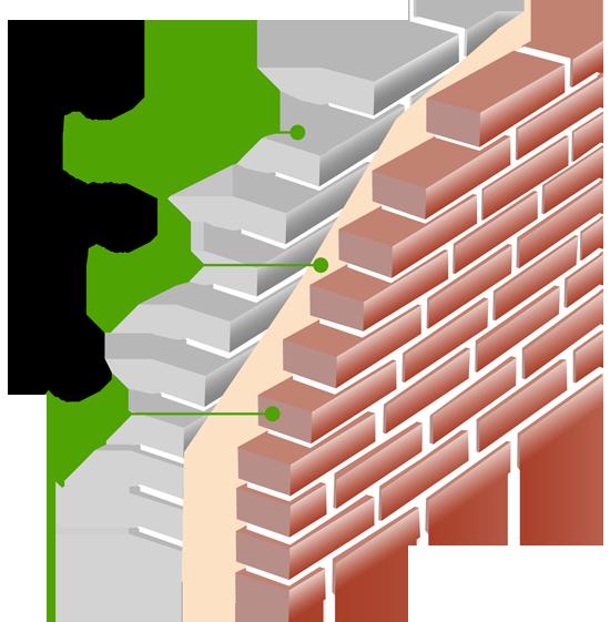 Cavity Insulation Diagram Uk Powersaving